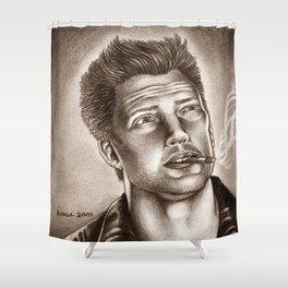 Joshua Homme Shower Curtain