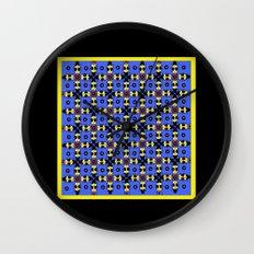Beetles Pattern Wall Clock
