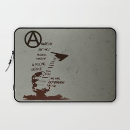 Anarchy Isn't... Laptop Sleeve