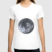 planet T-shirts featuring Planet by Design Art Helvetica and Abstract Art, m
