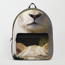 Noble Beast - Rare White Lion Backpack