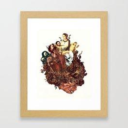"""""""Medusa's Command"""" (2017 / Collaboration) Framed Art Print"""