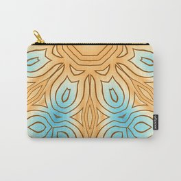 Sea Beach Summer Kaleidoscope Abstract Pattern Carry-All Pouch