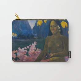 """Paul Gauguin """"Te Aa No Areois (The Seed of the Areoi)"""" Carry-All Pouch"""