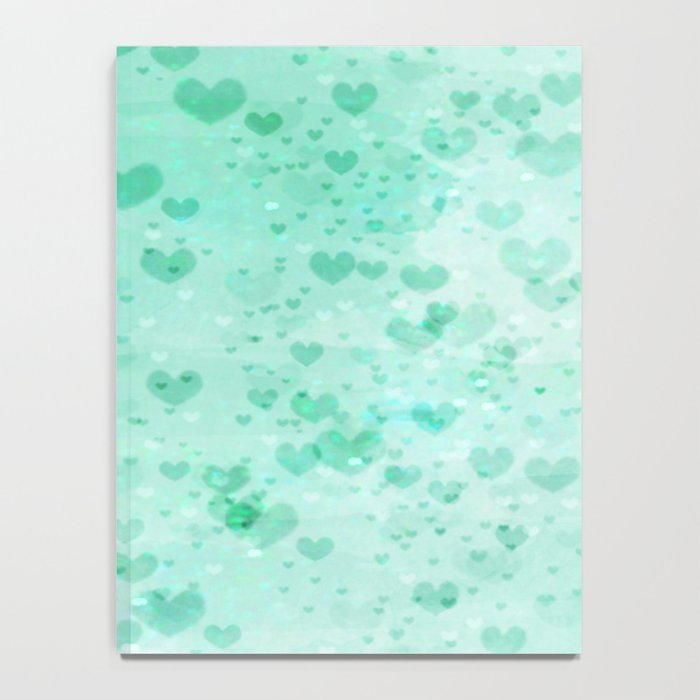 A Sea Of Floating Hearts Notebook