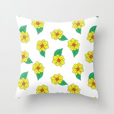 daisy, daisy Throw Pillow