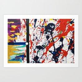Juxtapose #1 Art Print