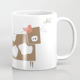 Cow Lady Coffee Mug