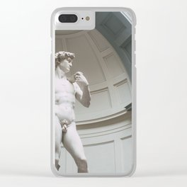 Florence, I Statue of David Clear iPhone Case