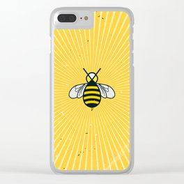 Don t worry – Bee happy – A Hell Songbook Edition Clear iPhone Case