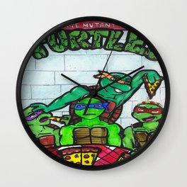 Mmm, pizza. Wall Clock