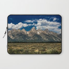 The Grand Tetons - Summer Mountains Laptop Sleeve