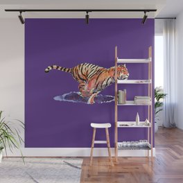 The Tiger Wall Mural