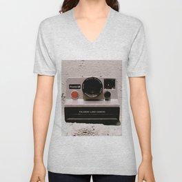 Pronto B Land Camera, 1977 Unisex V-Neck