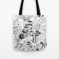 I've seen things (Black & White) Tote Bag