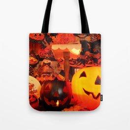 Vintage Halloween Glow Tote Bag