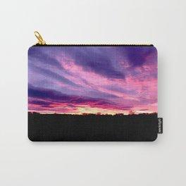 Purple Sunrise Carry-All Pouch