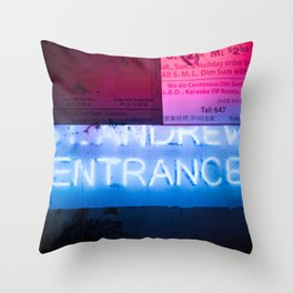 St. Andrew (Urban Night, Urban Lights 8) Throw Pillow