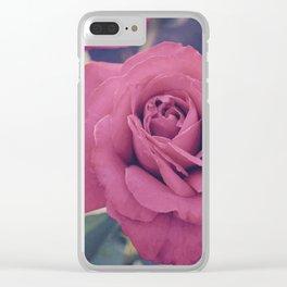Pale Rose Clear iPhone Case