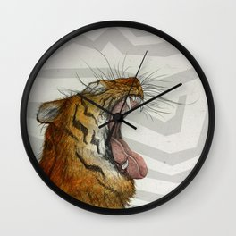 Liger / Fire Wall Clock