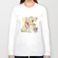 fairy Long Sleeve T-shirts featuring Fairy by CrismanArt