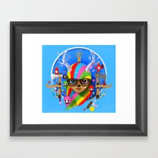 Your disco is Dead 3D Framed Art Print
