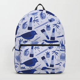 Birds in Winter Backpack