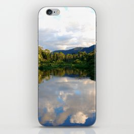 Reflections in the Amazon  iPhone Skin