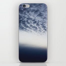 Drama above the Fjord iPhone Skin