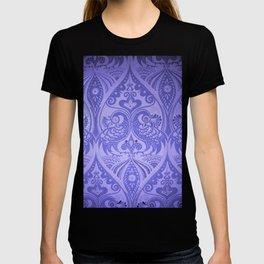 Ornamental Lovebirds Decorative Purple T-shirt