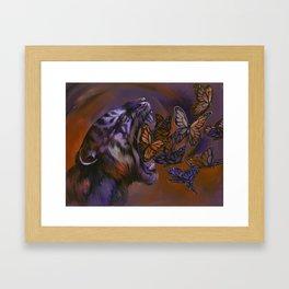 Gentle Roar Framed Art Print