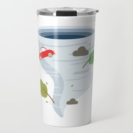 Awesome Tornado Storm Chasers & Severe Weather Travel Mug
