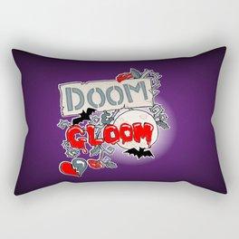 Doom & Gloom Rectangular Pillow