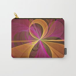 Luminous Colors, Abstract Fractal Art Carry-All Pouch