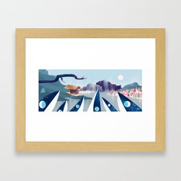 Polar Fish Framed Art Print