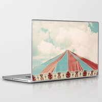 carnival Laptop & iPad Skins featuring Carnival by elle moss