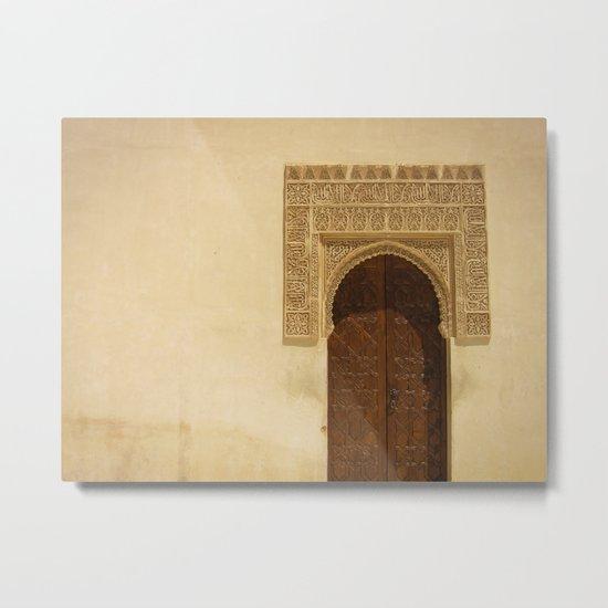 Moor Door Metal Print