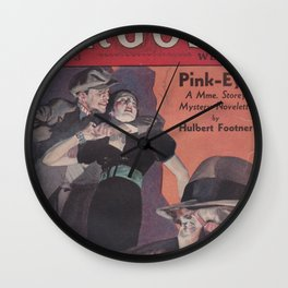 Argosy March 3rd 1934 Wall Clock