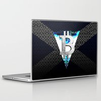 scotland Laptop & iPad Skins featuring bitcoin scotland by seb mcnulty