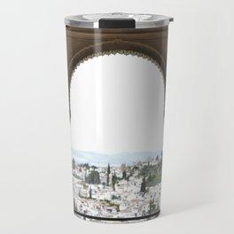 Alhambra Window to Granada Travel Mug