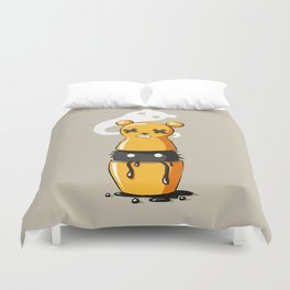 Matryoshka Monster Duvet Cover