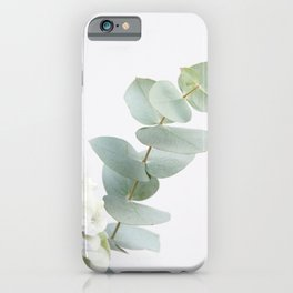Gentle Soft Green Leaves #1 #decor #art #society6 iPhone Case