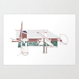 Geo Print 2 Art Print