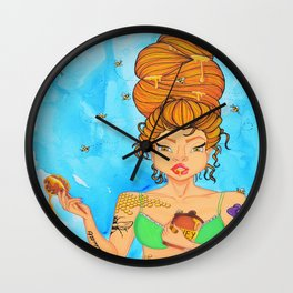 Bittersweet, Hair Series Wall Clock