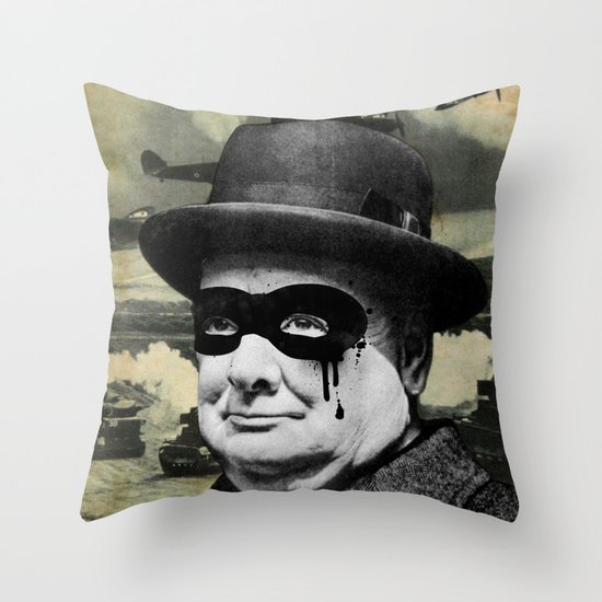 Churchill Throw Pillow