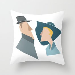 The Beauty of an Encounter Throw Pillow