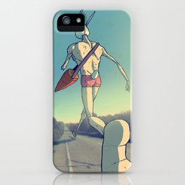 The Giant Conejo iPhone Case