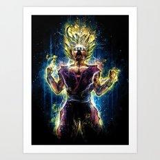 Emotional Fighter Level 2 Art Print