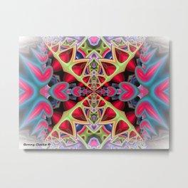 Squeeze Box Metal Print
