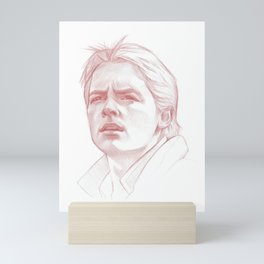 Marty McFly Mini Art Print